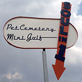 Pet Cemetery/Miniature Golf: Soul In One, Artscape installation